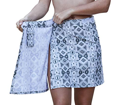 e804e372e3 RipSkirt Hawaii Quick Wrap Cover-up Summer Skirt. The original water  shedding ...