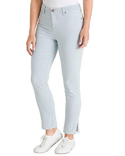 9f34c1a577241 Chico's So Slimming Girlfriend Ankle Jeans Regular and Petite -